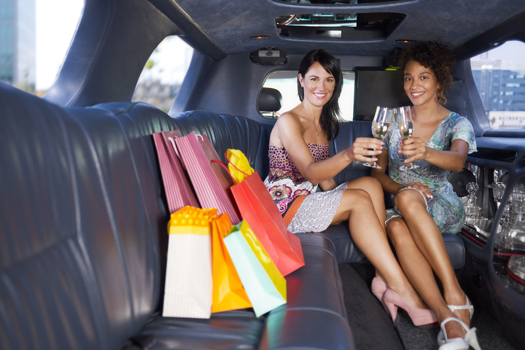 limo service transportation in Hill Country for shopping and a day out